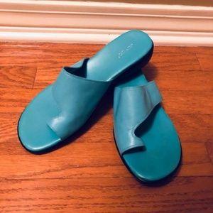 Shoes - Bright Blue Sandals
